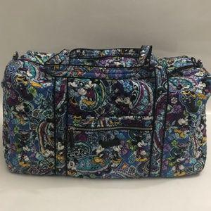 Vera Bradley Iconic Large Travel Duffel Bag Disney